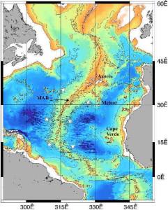 Mid Atlantic idge