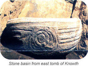 Knowth stone basin