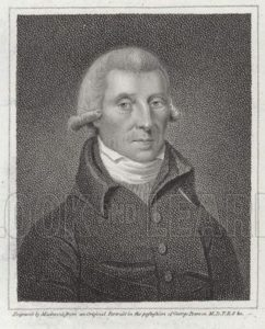 Richard Kirwan (1733-1812). Irish scientist a supporter of the theory of phlogiston.