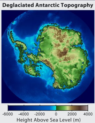Antarctica - without ice