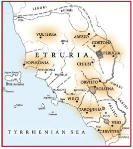 Etruscan map