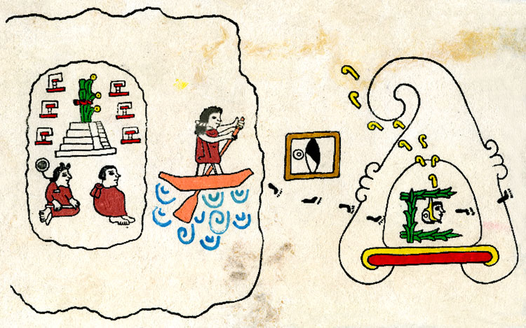 Aztecs leaving Aztlan