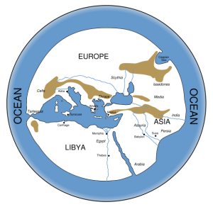 hecataeus map