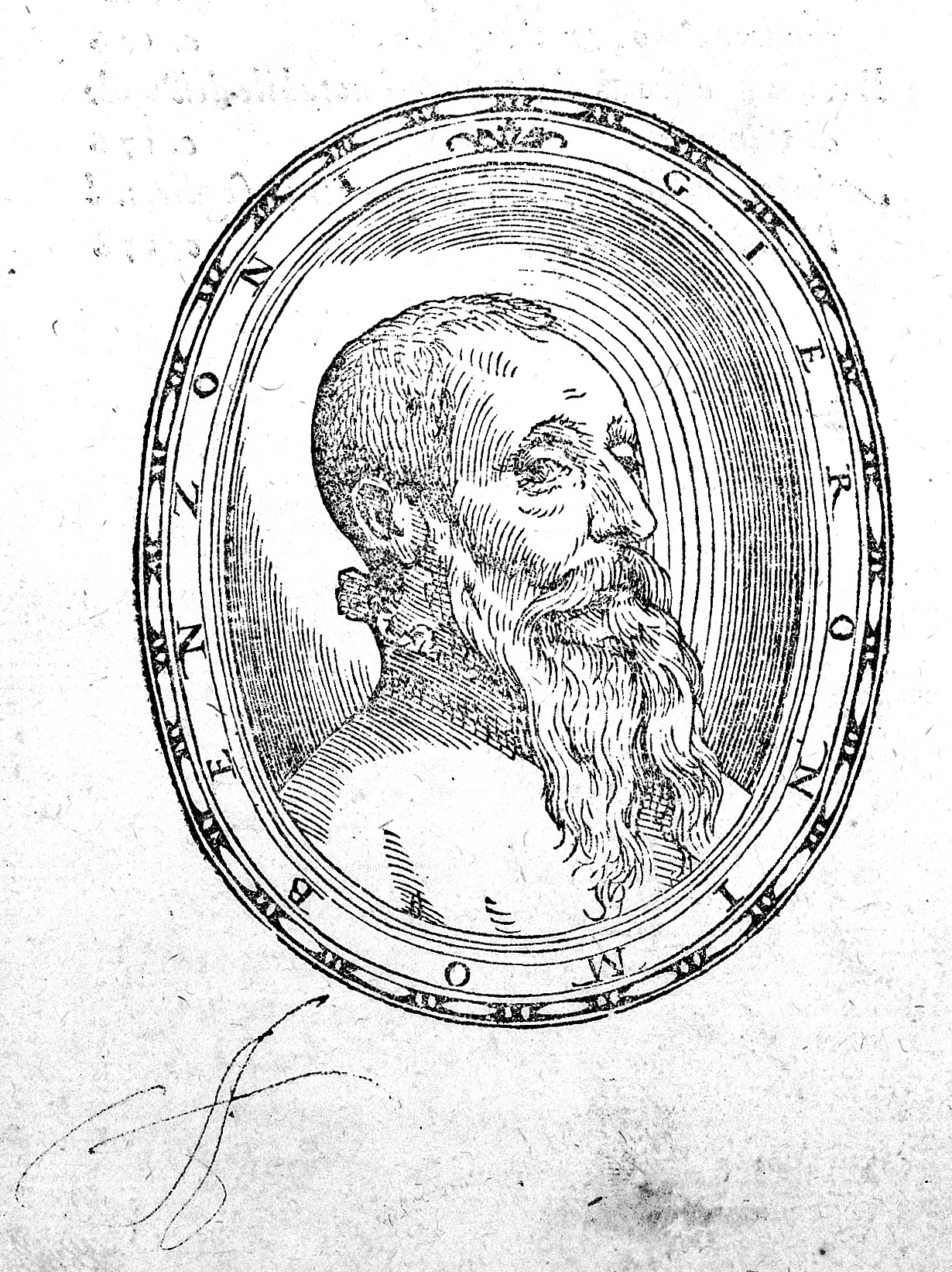 L0020190 Portrait of Girolamo Benzoni Credit: Wellcome Library, London. Wellcome Images images@wellcome.ac.uk https://wellcomeimages.org Portrait of Girolamo Benzoni Woodcut 1572 La Historia del Mondo Nuovo Benzoni, Girolamo Published: 1572 Copyrighted work available under Creative Commons Attribution only licence CC BY 4.0 https://creativecommons.org/licenses/by/4.0/